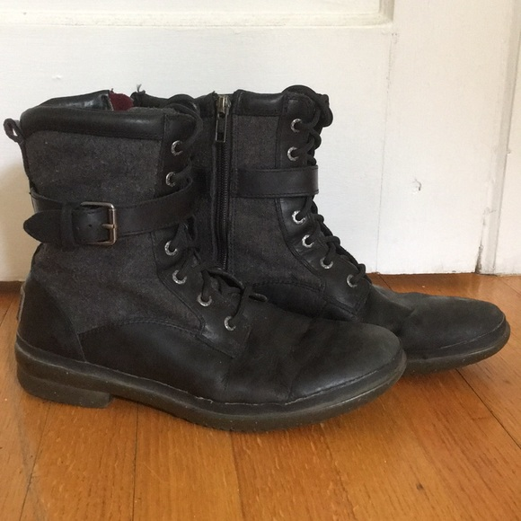 f7888278979 UGG Kesey Waterproof Combat Style Boots sz 8